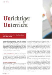 thumbnail of Krebs_Godau – 2015 – Unrichtiger Unterricht_Musiklernen via YouTube