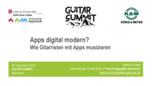 thumbnail of Apps für Gitarristen_Guitar Summit 2018_Matthias Krebs
