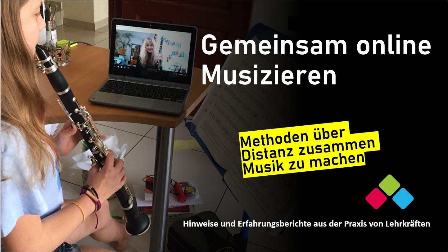 Gemeinsam online Musizieren - Methoden Online-Unterricht