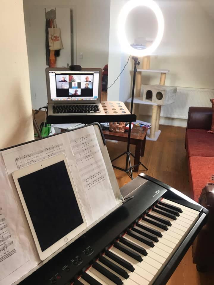 Miriam Köpke Chor via Zoom