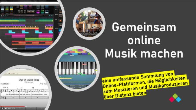 Gemeinsam online Musizieren_Cover
